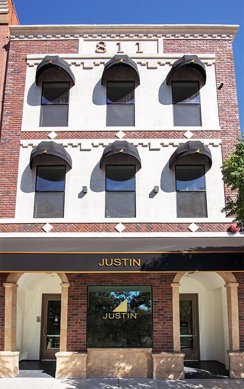The New Justin Downtown Tasting Room