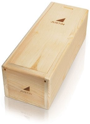 1-Bottle Wood Box