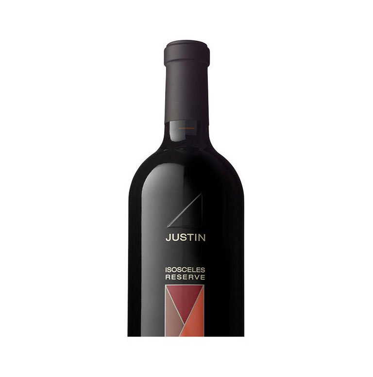 JUSTIN Isosceles Reserve Wine Bottle
